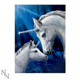 Lisa Parker - Sacred Love - Unicorn 3D Picture